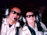 [Paula G. FLores in a Black Hawk helicopter]
