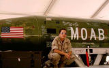 [Paula G. Flores in front of a MOAB]