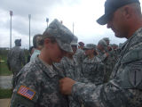[Amanda D. Westfall at Airborne School graduation, 2008]