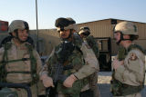 [Amanda D. Westfall with squadron medics at Bagram Air Field, 2005]