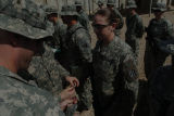 [Amanda D. Westfall during her promotion to staff sergeant, 2007]