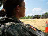 [Amanda D. Westfall at the Special Warfare Center and School at Fort Bragg, 2009]
