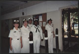 [Lieutenant Commander Christine Marie Milam's retirement ceremony from the U.S. Naval Reserve,...