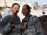 [Felicia Dahl with 1st Brigade Special Troops Battalion Medics]