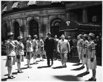 [WAC honor guard for Massachusetts Governor, circa 1944]