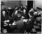 [WACs in Franklin Square House Tea Room, 1944]