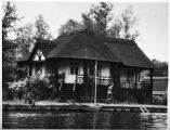 [Red Cross cottage in Norwich, England, circa 1943]