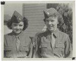 [June Neely Baker and friend, circa 1943]