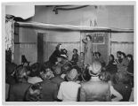 [End of basic training party, 1945]