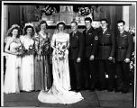 [Wedding of Phyllis H. and Bill Snyder, 1944]