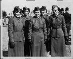 [Ellen Brown Steel and fellow WACs, circa 1952]