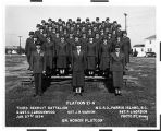 [Third Recruit Battalion, Platoon 21-A, 1954]