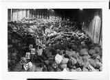 [Warehouse of bags, circa 1944]