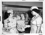 [WACs shopping at PX, circa 1960]