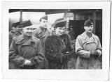 [The Princess Marina, Duchess of Kent with servicemen, circa 1945.]