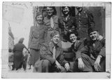 [WACs and soldiers in Paris on VE Day, 1945]