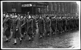 [Woman's Auxiliary Air Force in parade, circa 1943]