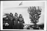 [Three army servicewomen, 1947]