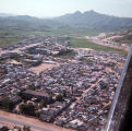 [Aerial view of Camp Red Cloud, Uijongbu, South Korea, 1969.]