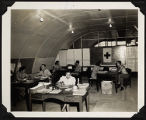 [Navy 3964 office and staff, Tacloban, Philippines, 1945]