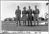[WAAC and three army servicemen at Greenwood Army Air Base, 1944]
