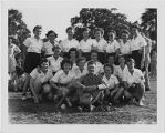 [WAC softball team at MacDill Airfield, Florida, circa 1943]