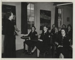 [Viola Brown Sanders teaches reserve officer candidates, 1951]
