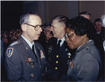 [Clara Adams-Ender and General Max Thurman, 1990]