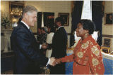 [Clara Adams-Ender and President Bill Clinton, circa 1995]