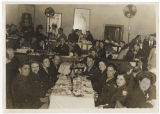 [WACs and their dates at restaurant, 1943]
