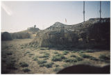 [Structures at desert military camp, 2003]