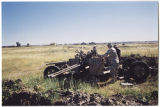 [Junked artillery in Iraq, 2003]
