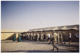 [Chow line in Iraq, 2003]