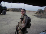 [Bethany Gibson in Iraq,  2003]