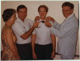 [Kathryn Wirkus receives 2nd Lieutenant bars, 1978]