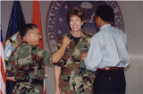 [Kathryn Wirkus promoted to lieutenant colonel, 1999]