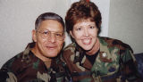 [Kathryn Wirkus and Major General Valenzuela, 1999]
