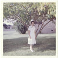 [Alice Park Fairbrother in nurse uniform, circa 1966]