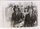 [Caroline Morrison and Eileen Welch shop in San Antonio, Texas, 1945]