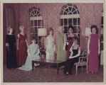 [WACs in formal attire at AUSA, 1968]