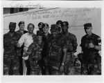 [Army unit with Al D'Amato, 1990]