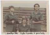 [Three WACs in Vietnam, circa 1968]