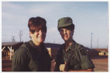 [Lee Wilson and Marilyn Roth in Vietnam, circa 1968]