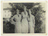 [Three WACs at Ft. Lee, 1950]