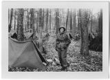 [Gloria Carlson during a bivouac in Germany, circa 1952]