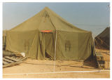 [Operating room tent at Operation Bright Star, 1989]