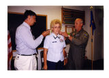 [Sandra Higgins is promoted to colonel]