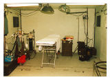 [Interior of Operation Bright Star operating room, 1989]