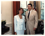 [Paula Trivette and President Ronald Reagan, 1987]