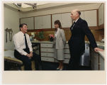 [Paula Trivette, President Ronald Reagan, and Dr. John Hutton, 1988]
